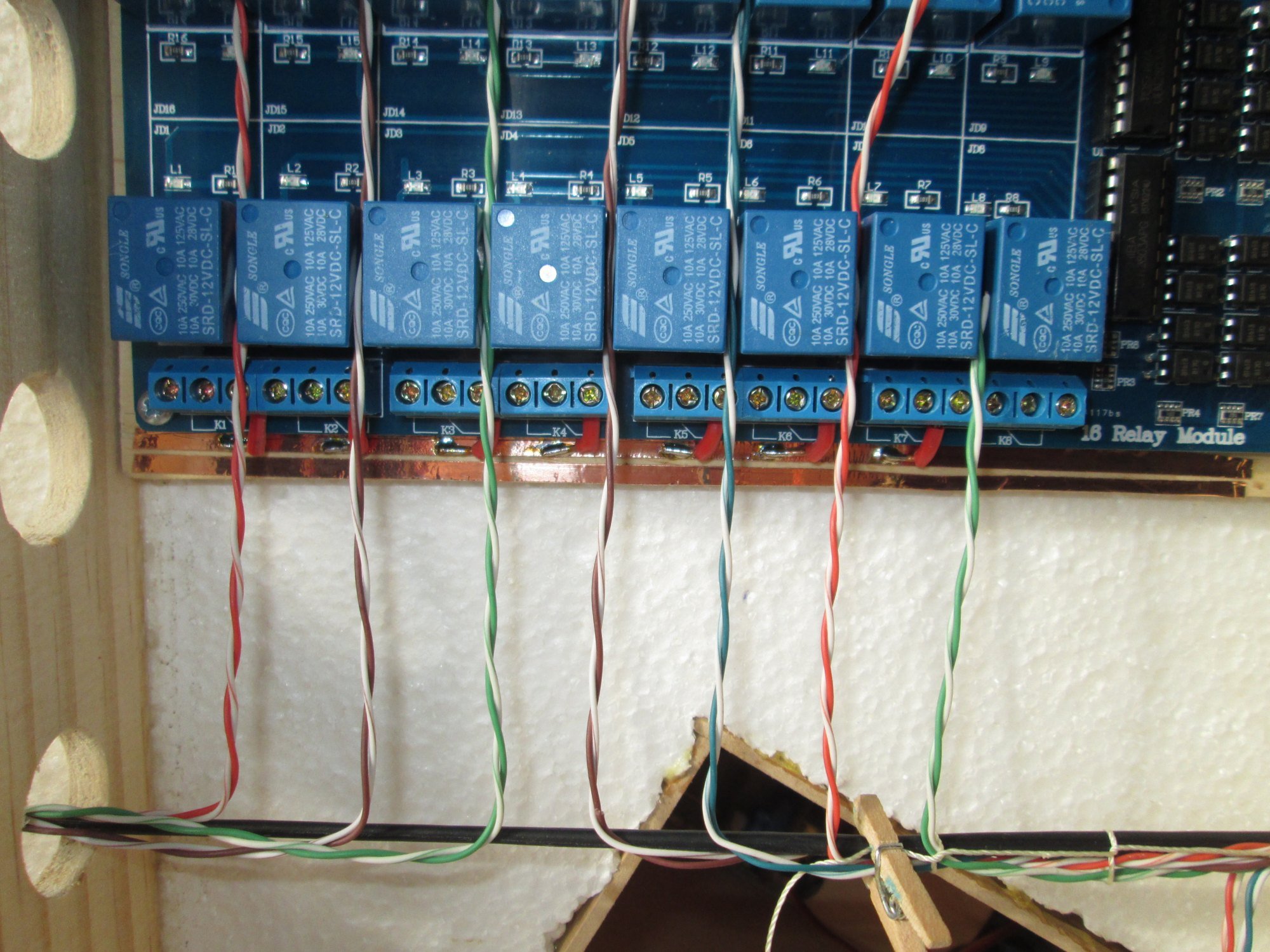 Wiring and lacing - Utrainia